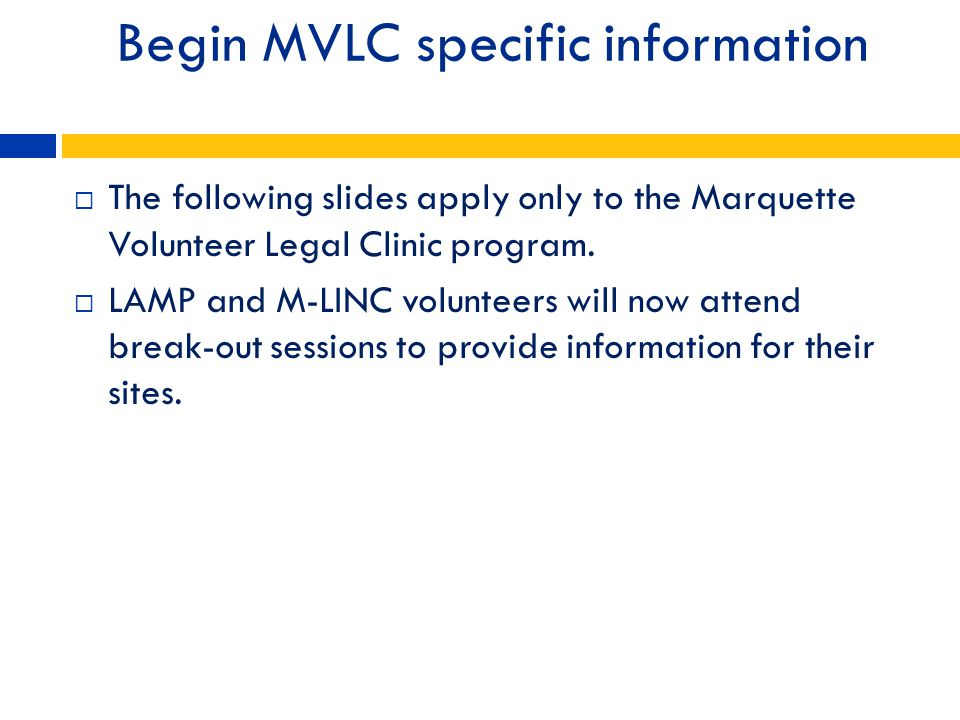 Begin MVLC specific information