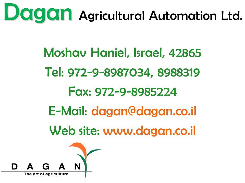 Dagan Agricultural Automation Ltd.