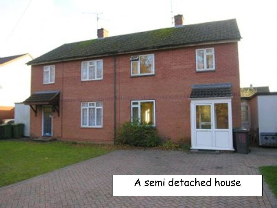 A semi detached house