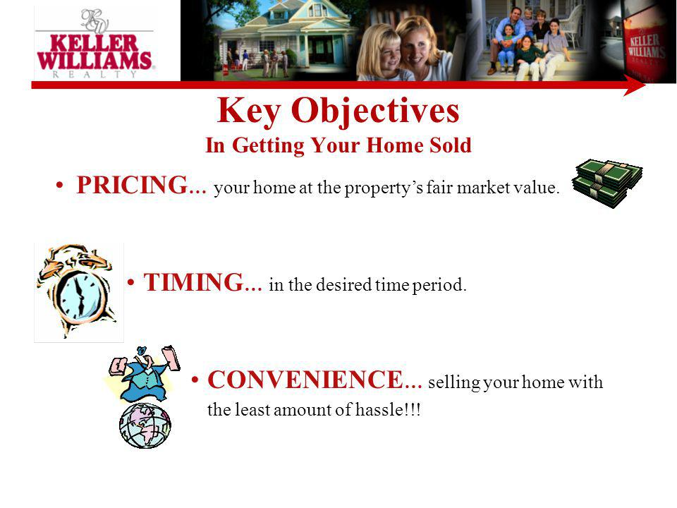 Key Objectives In Getting Your Home Sold