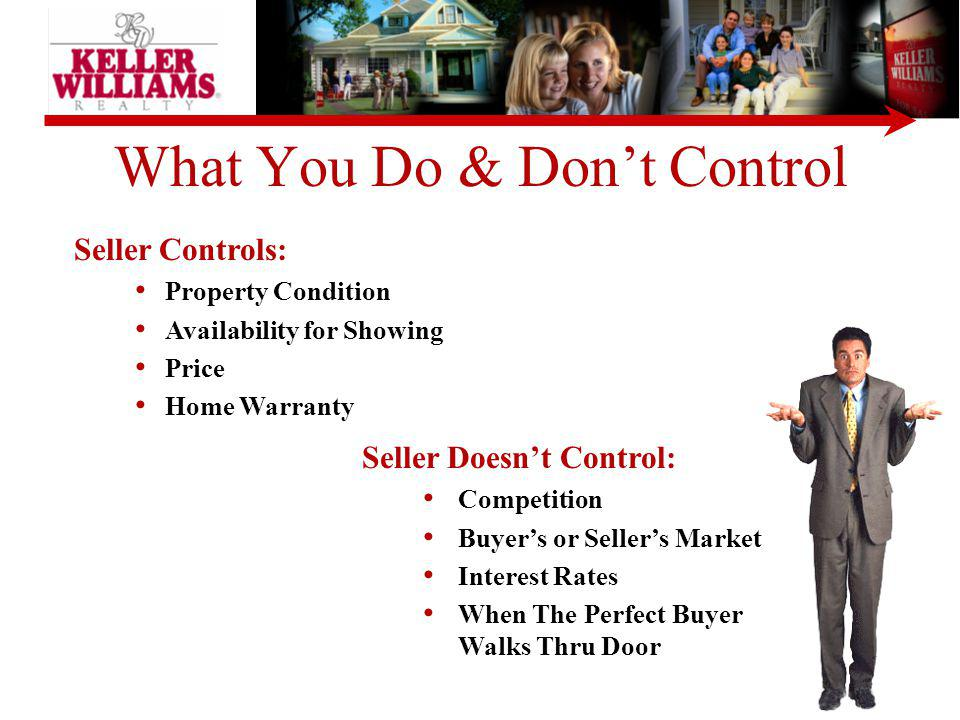 What You Do & Don't Control