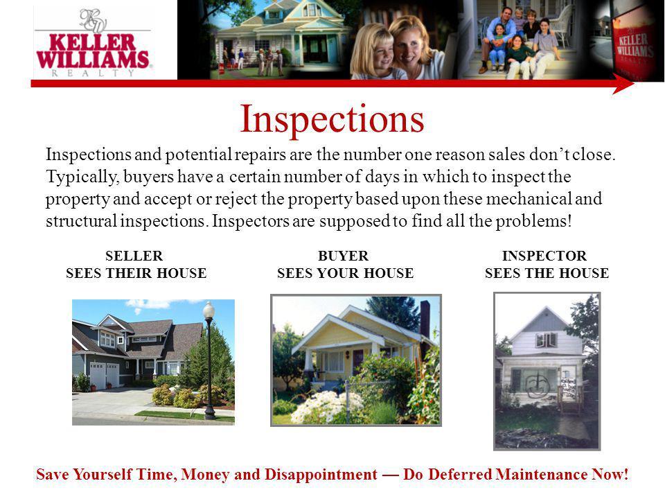 SELLER SEES THEIR HOUSE