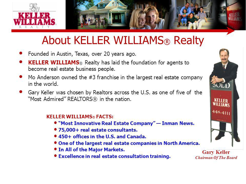 About KELLER WILLIAMS® Realty