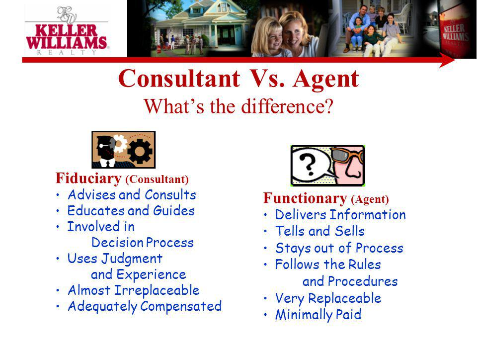 Consultant Vs. Agent What's the difference