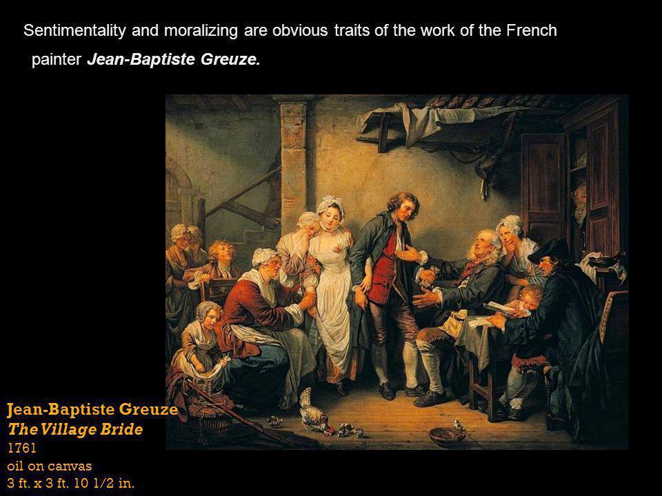 painter Jean-Baptiste Greuze.
