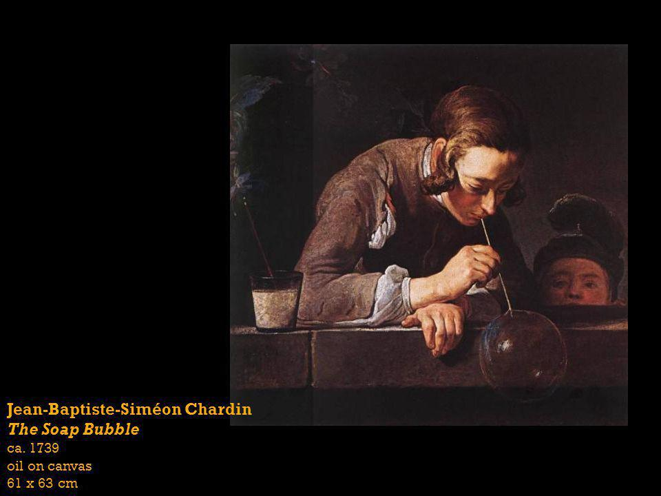 Jean-Baptiste-Siméon Chardin The Soap Bubble