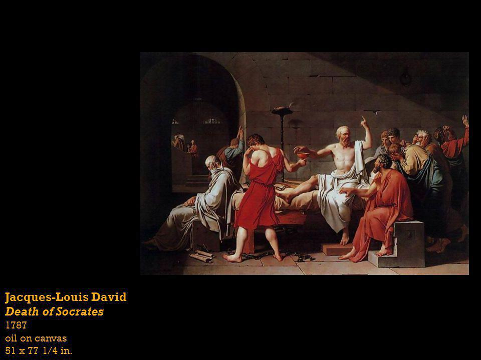 Jacques-Louis David Death of Socrates