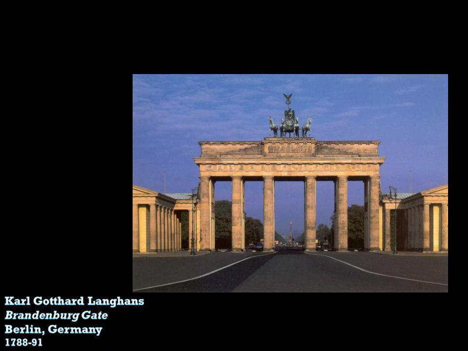 Karl Gotthard Langhans Brandenburg Gate Berlin, Germany
