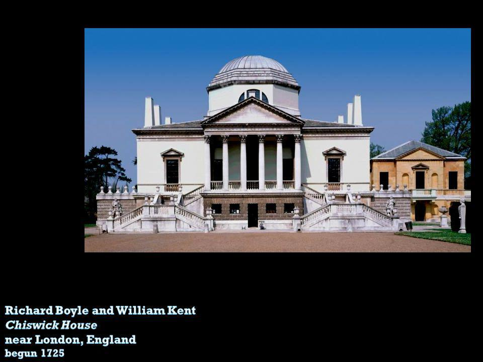 Richard Boyle and William Kent Chiswick House near London, England
