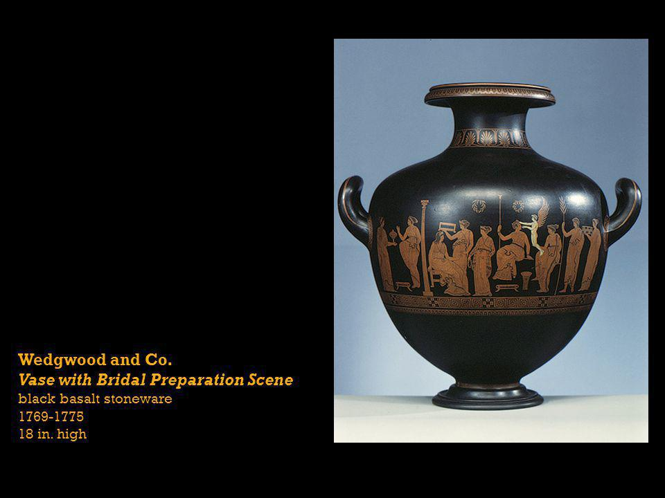 Vase with Bridal Preparation Scene