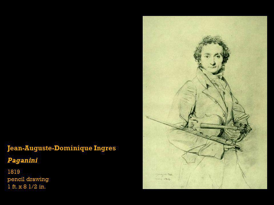 Jean-Auguste-Dominique Ingres Paganini