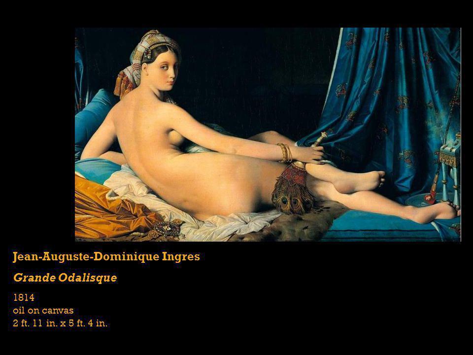 Jean-Auguste-Dominique Ingres Grande Odalisque
