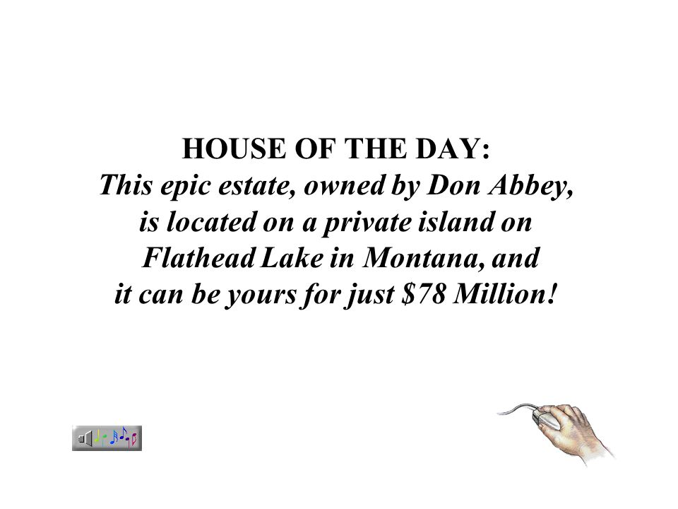 HOUSE OF THE DAY: This epic estate, owned by Don Abbey, is located on a private island on Flathead Lake in Montana, and it can be yours for just $78 Million!