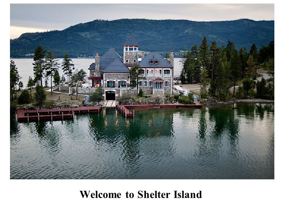 Welcome to Shelter Island