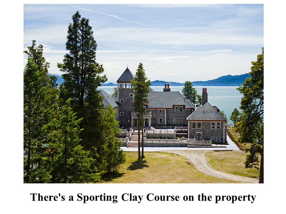 There s a Sporting Clay Course on the property
