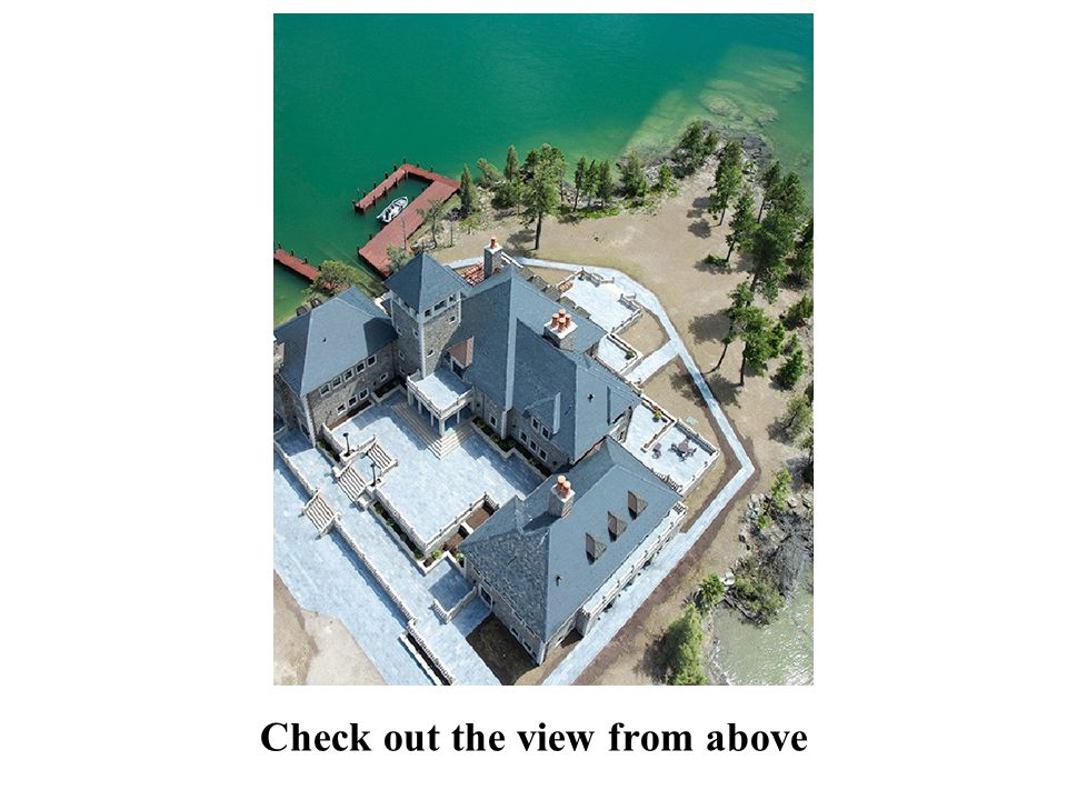 Check out the view from above
