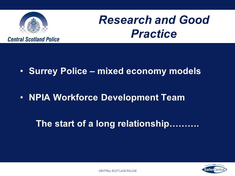 Research and Good Practice