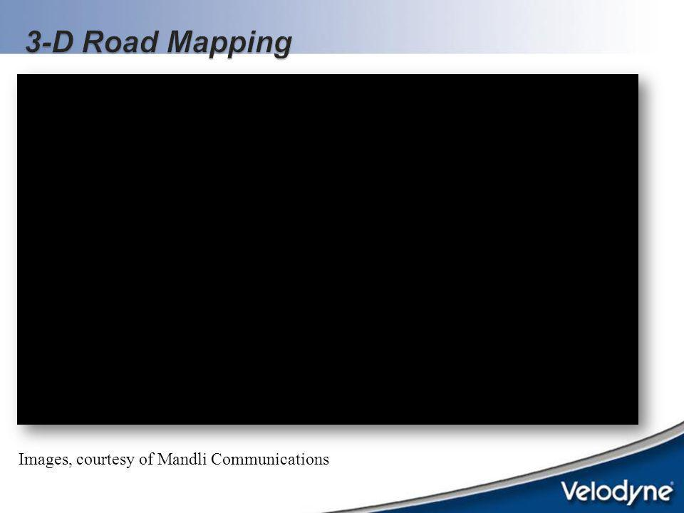 3-D Road Mapping Images, courtesy of Mandli Communications