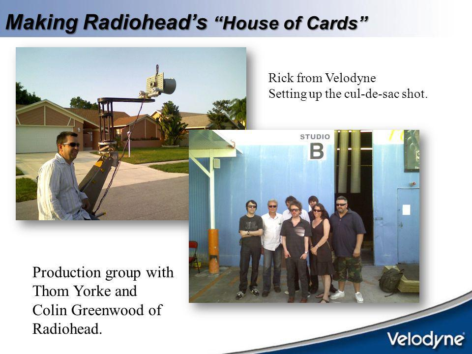 Making Radiohead's House of Cards