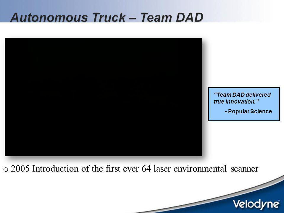 Autonomous Truck – Team DAD