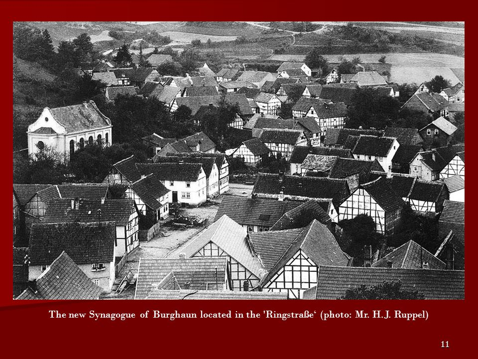 Of course the Burghaun Jews allways had their place of worship