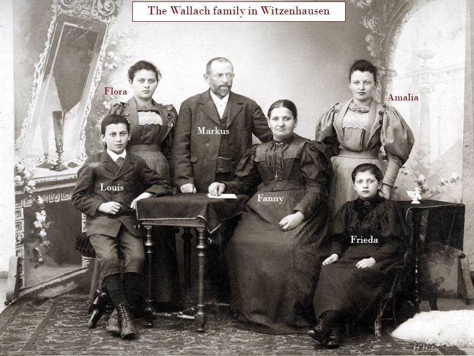 The Wallach family in Witzenhausen