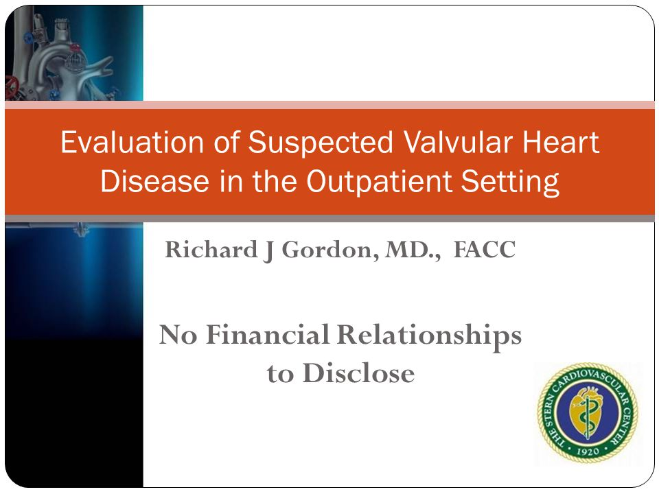 Richard J Gordon, MD., FACC