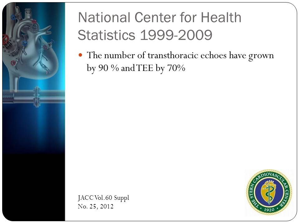National Center for Health Statistics 1999-2009