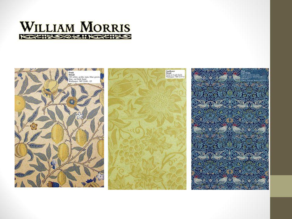 Wallcoverings in the Arts and Craft Style