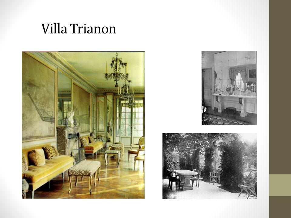 Villa Trianon Villa Trianon, Elsie's pride and joy. Her home until her death in 1950.