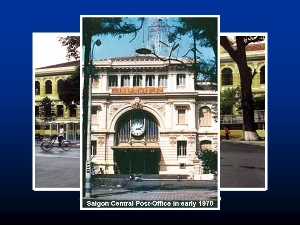 Saigon Central Post-Office in early 1970
