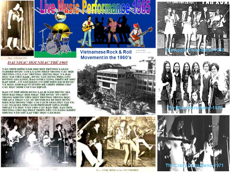 Vietnamese Rock & Roll Movement in the 1960 s