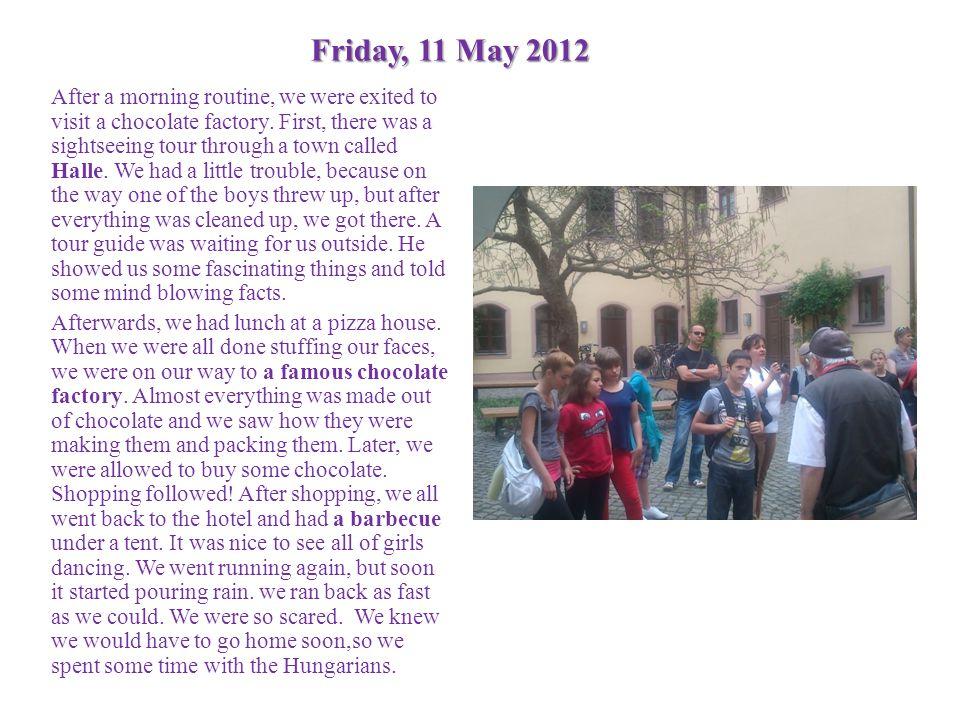 Friday, 11 May 2012