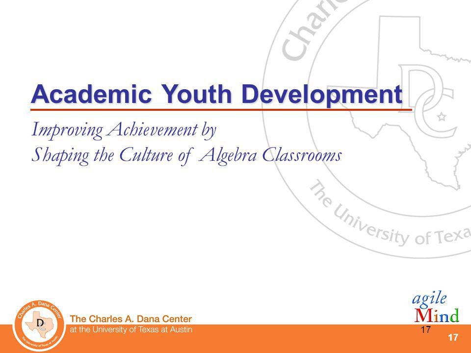 Academic Youth Development