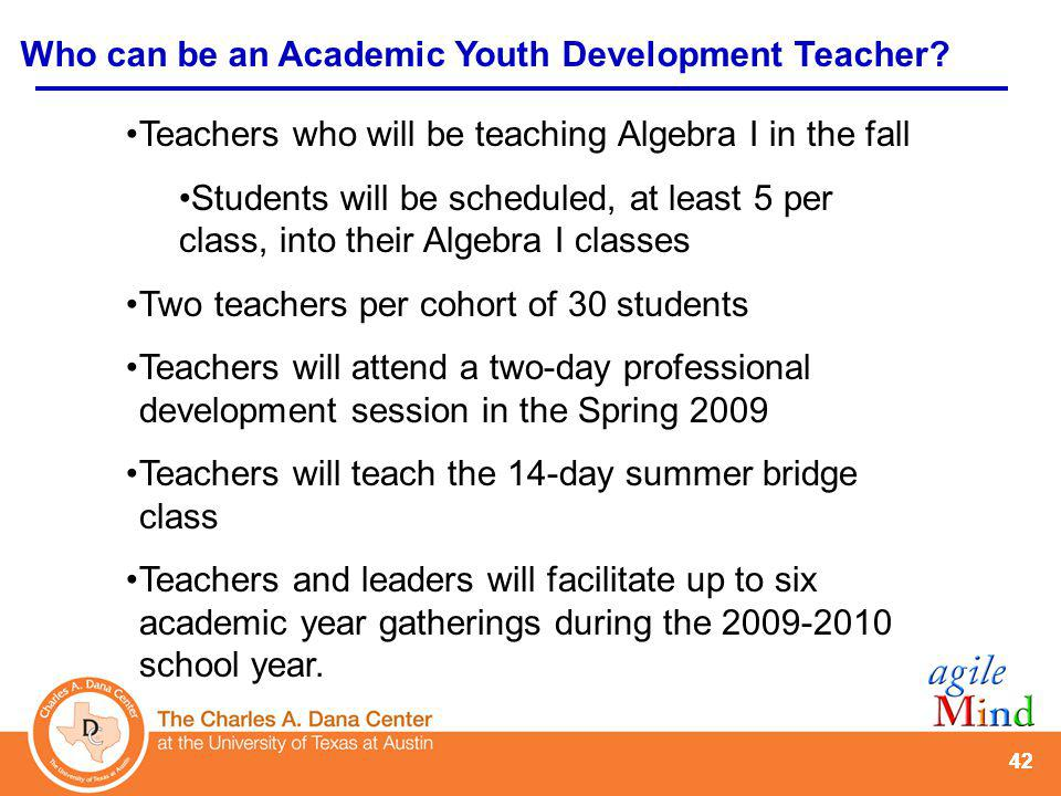 Who can be an AYD student