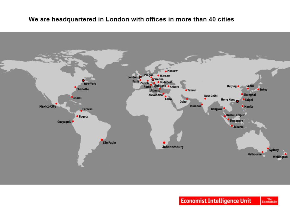 We are headquartered in London with offices in more than 40 cities