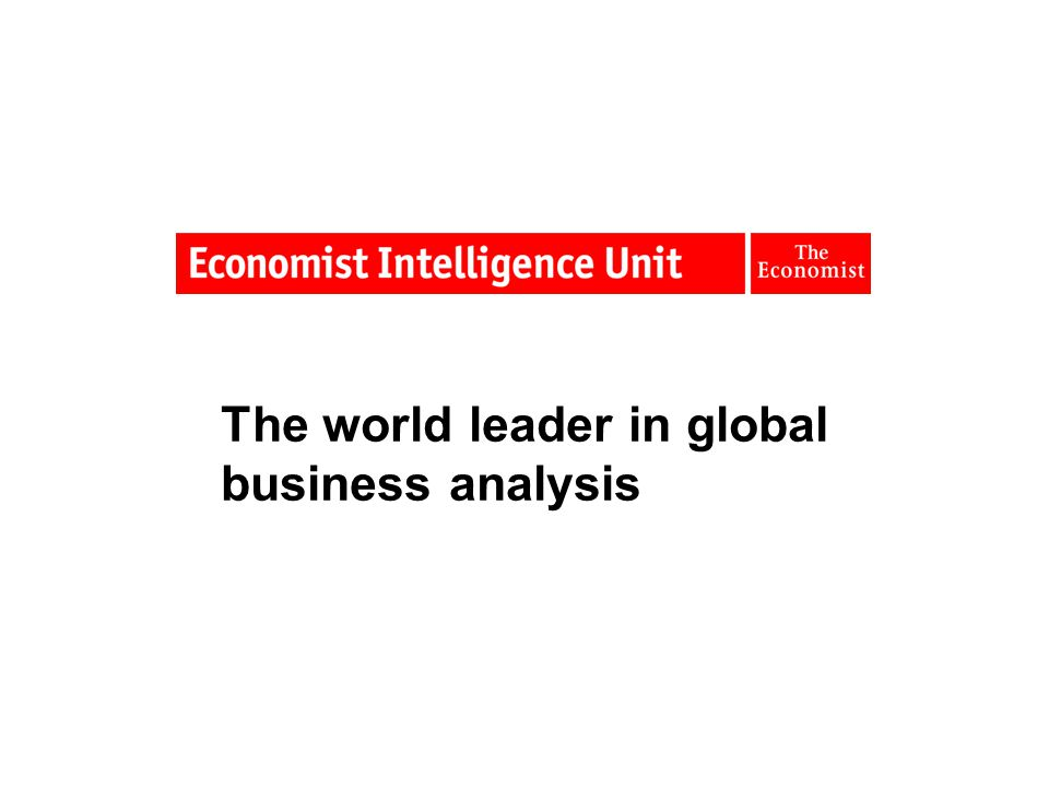 The world leader in global business analysis