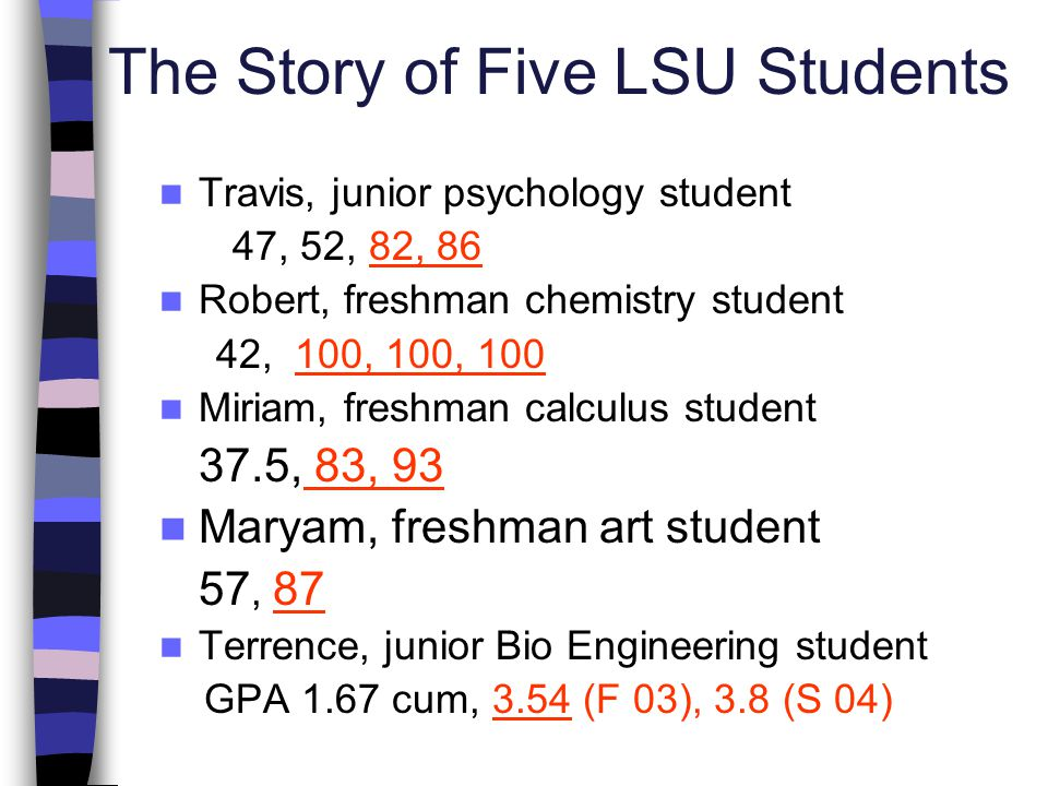 The Story of Five LSU Students