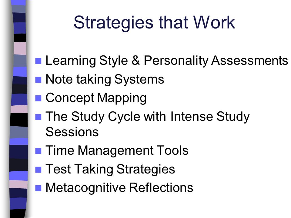 Strategies that Work Learning Style & Personality Assessments