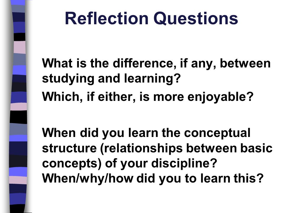 Reflection Questions Which, if either, is more enjoyable
