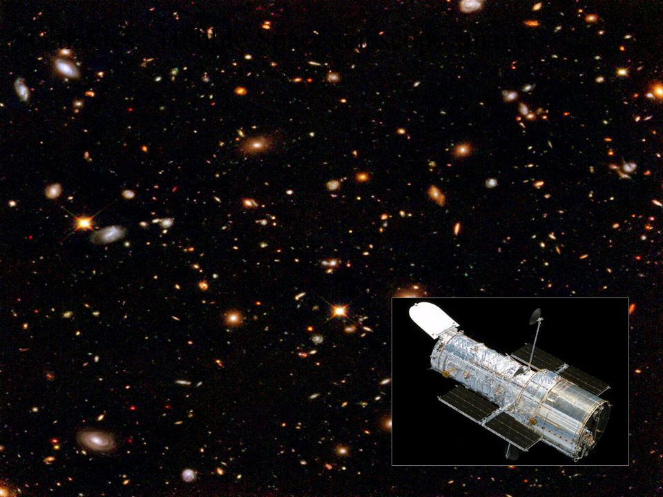 Galaxies: Hubble Space telescope image