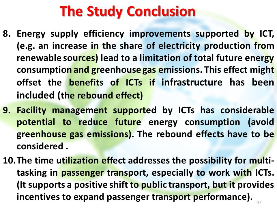 The Study Conclusion