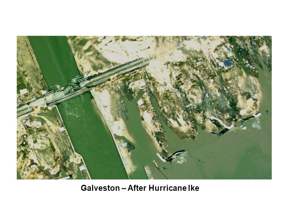 Galveston – After Hurricane Ike