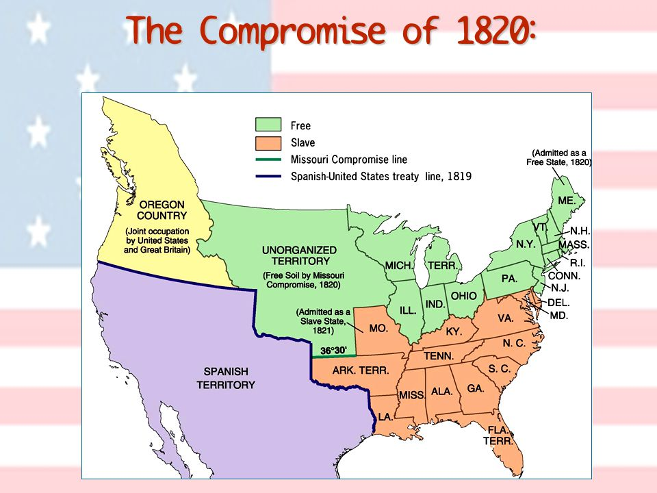 The Compromise of 1820: