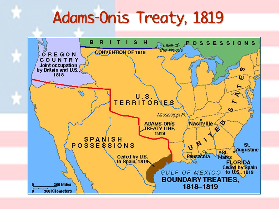 Adams-Onis Treaty, 1819