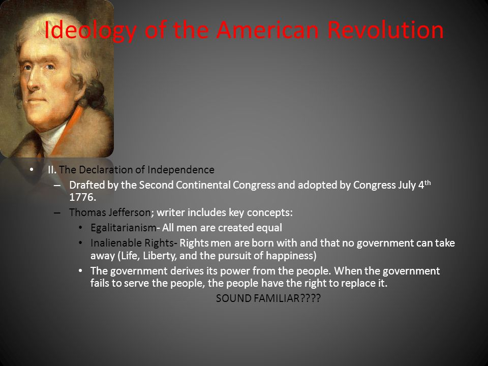 Ideology of the American Revolution