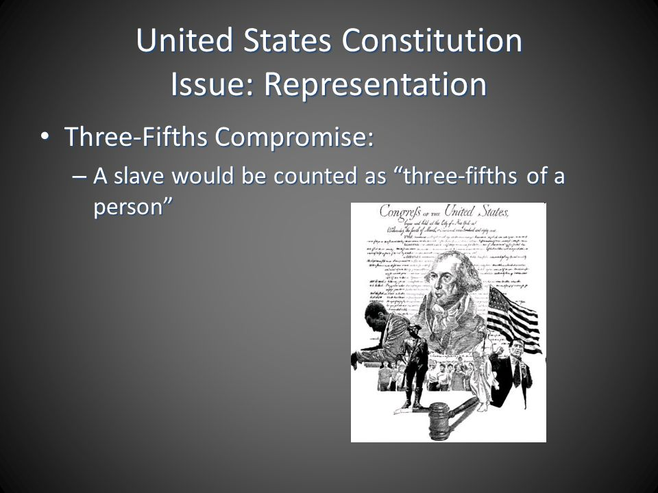 United States Constitution Issue: Representation