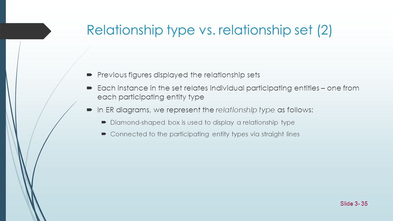 Relationship type vs. relationship set (2)