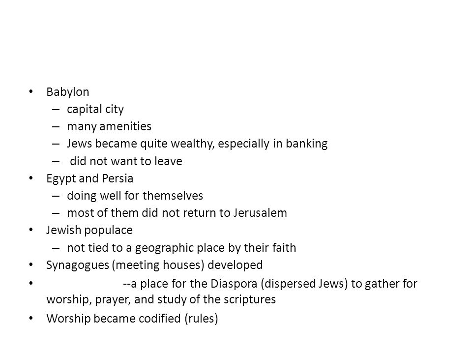 Jews became quite wealthy, especially in banking did not want to leave