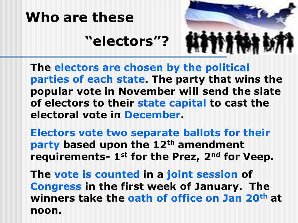 Who are these electors